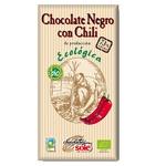 Шоколад темний Chocolates Sole з перцем чилі органічний 73% 100г