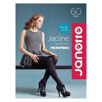 Колготи Jacline Nero 60 ден чорні розмір 2