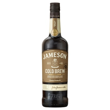 Jameson Cold Brew Whiskey & Coffee Spirit Drink 30% 0.7l - buy, prices for CityMarket - photo 1