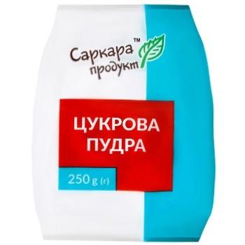 Сахарная пудра Саркара Продукт 250г - купить, цены на СитиМаркет - фото 1