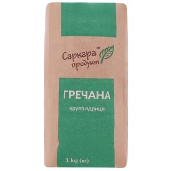 Groats Sarcara product unground buckwheat 1000g - buy, prices for MegaMarket - image 1