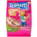 Start! Baked Milk Balls Grain Dry Breakfast 320g