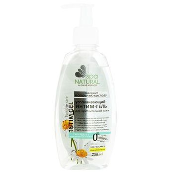 Natural Spa Gel for Intimate Hygiene with Chamomile 250ml - buy, prices for Furshet - image 1