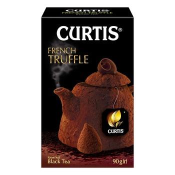 Чай чёрный Curtis Truffle Black ароматизированный листовой 100г - купить, цены на Ашан - фото 6