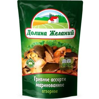 Dolina Zhelaniy Pickled Mushroom Assorti 200g - buy, prices for Novus - image 1