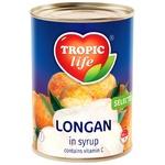 Лонган Tropic Life в сиропе 580мл