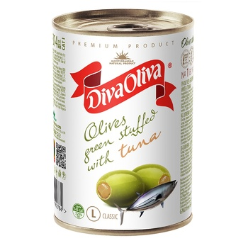 Diva Oliva Olives with Tuna 314ml