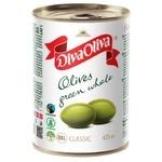 Diva Oliva Large Olives Green Whole 425ml