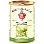 San Eduardo Pitted Olives 300ml