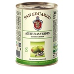 olive San eduardo with anchovy green pitted 260g can