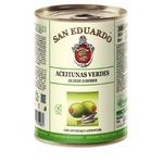 Оливки San Eduardo зелені з анчоусом з/б 260г
