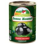 Dolyna Zhelanyy Black Olives with Bone 425ml