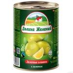 Dolyna Zhelanyy Olives with Lemon 260g