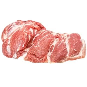 Лопатка свиная без кости куском - купить, цены на Ашан - фото 1