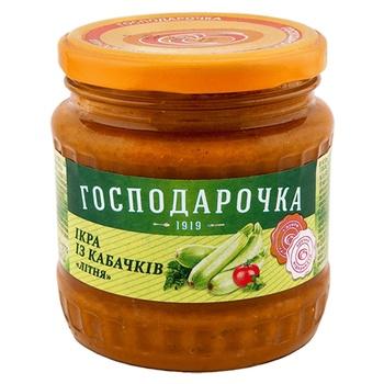 Hospodarochka squash caviar 445g