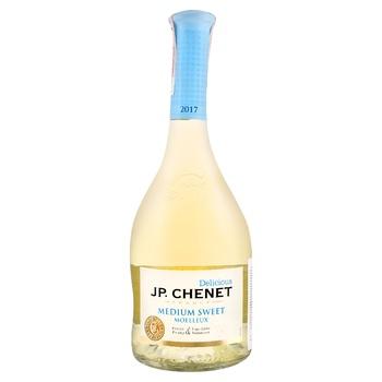 Вино J.P.Chenet Blanc Medium Sweet белое полусладкое 11,5% 0,75л - купить, цены на СитиМаркет - фото 1