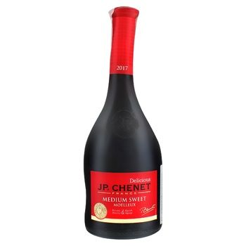 Вино J.P. Chenet Rouge Medium Sweet красное полусладкое 12% 0,75л