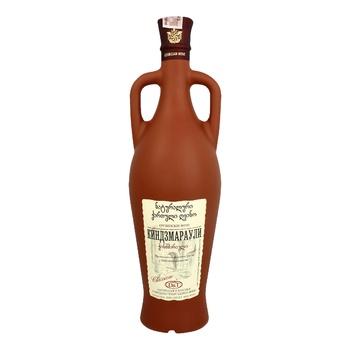 Вино D&T Киндзмараули красное полусладкое 10-12% 0,75л - купить, цены на Таврия В - фото 1