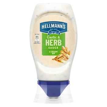 Соус чесночный Hellmann's с травами 250мл