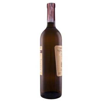 Вино Зоря Кахетії Алазанська долина біле напівсолодке 11-12.5% 0,75л - купити, ціни на CітіМаркет - фото 2