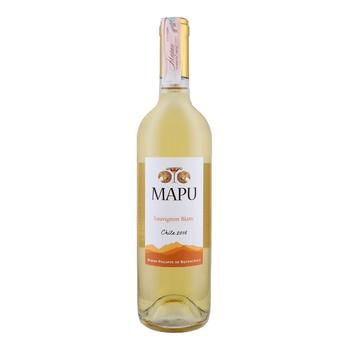 Вино Mapu Sauvignon Blanc белое сухое 12,5% 0,75л