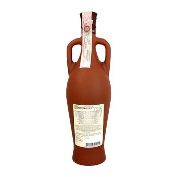 Вино D&T Киндзмараули красное полусладкое 10-12% 0,75л - купить, цены на Таврия В - фото 3