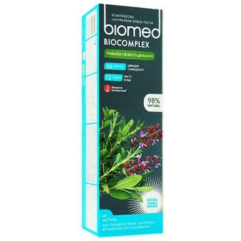 Зубная паста BioMed Biocomplex защита от бактерий и кариеса 100мл