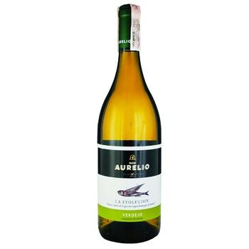 Вино Don Aurelio Verdejo D.O.P. белое сухое 11,5% 0,75л - купить, цены на СитиМаркет - фото 1