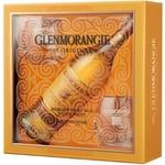Виски Glenmorangie Original 10 лет 40% 0.7л + 2 стакана картонная упаковка