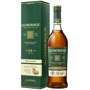 Glenmoranjie The Quinta Ruban Highland Single Malt Scotch Whisky 12 years 46% 0.7l - buy, prices for Furshet - image 2