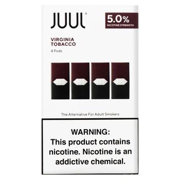 Картридж Juul Virginia Tobacco 5% П4 - купити, ціни на Novus - фото 1