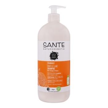 Шампунь Sante Bio Kraft & Glanz с апельсином и кокосом 950мл - купить, цены на Ашан - фото 1