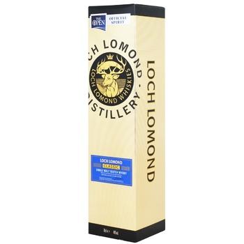 Віскі Loch Lomond Classic Box 40% 0,7л - купити, ціни на МегаМаркет - фото 1