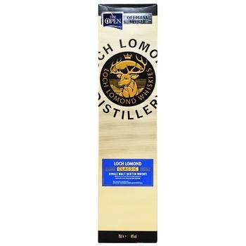 Віскі Loch Lomond Classic Box 40% 0,7л - купити, ціни на МегаМаркет - фото 2