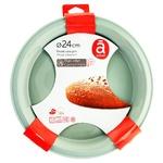 Форма Actuel для выпечки с твердым краем силиконовая 24см - купить, цены на Ашан - фото 2