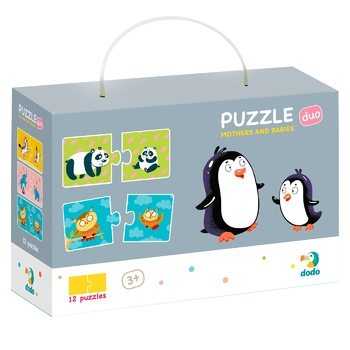 DoDo Mom and Baby Puzzles - buy, prices for Metro - photo 1