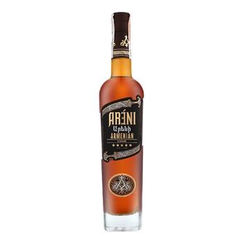 Areni 5 Stars Cognac 40% 0,5l - buy, prices for Furshet - image 1