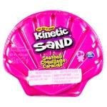 Песок для творчества Kinetic Sand Ракушка розовая