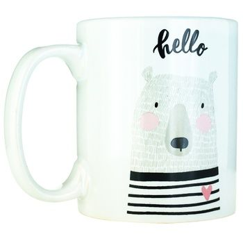 Actuel Bear Ceramic Cup 300ml - buy, prices for Auchan - photo 1
