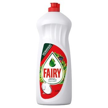Fairy Berries Fresh Dishwashing Liquid 1l - buy, prices for CityMarket - photo 1