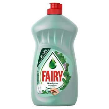 Fairy Tea Tree and Mint Dishwashing Liquid 500ml