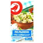 Auchan Siberian Dumplings Frozen 600g