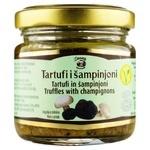 Соус из шампиньонов Zigante Tartufi с черным трюфелем консервированный стерилизованный 80г