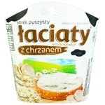 Laciaty Cream-cheese with Horseradish 58% 150g - buy, prices for Auchan - photo 1