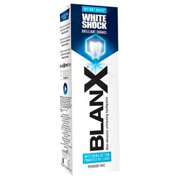 Зубная паста Blanx White Shock 75мл