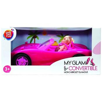 Игрушка One two fun My Glam Convertible Кукла в автомобиле