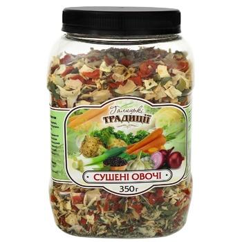 Halytsʹki tradytsiyi dried vegetables 350g - buy, prices for Metro - photo 1