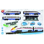 One two fun Toy Railroad and High Speed Train