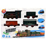 One two fun Toy Set of Trains