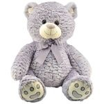 One two fun Soft Toy Sitting Bear 44cm in stock